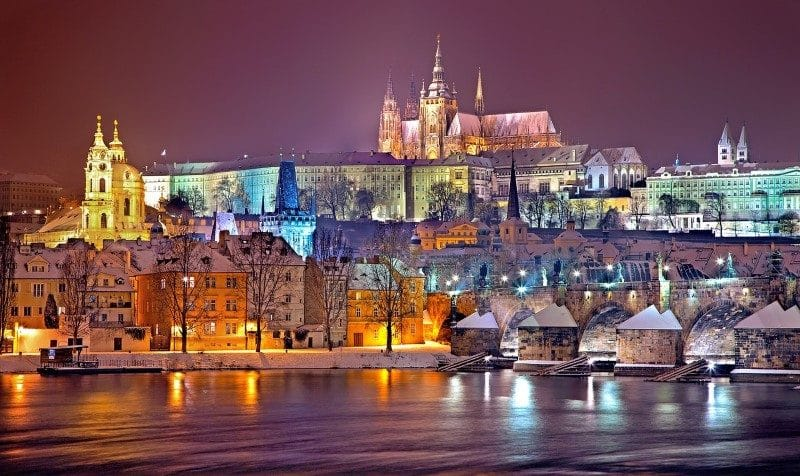 prague baby boomers travelling winter