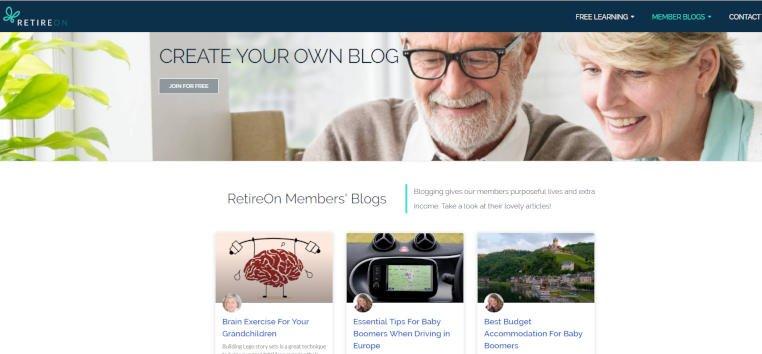 RetireOn Blog Service For Members
