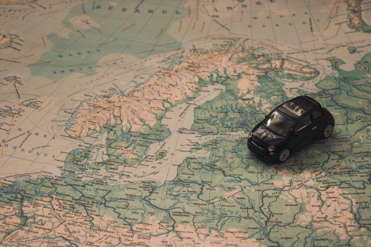 baby boomer driving europe adventure baltic sea car