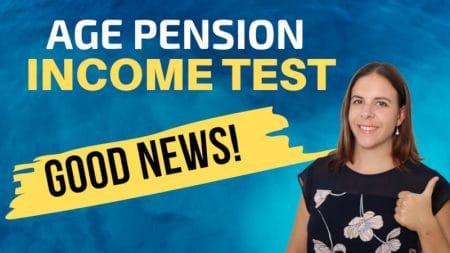 Age Pension Income Test