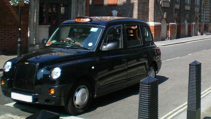London Taxi's without car wrapping