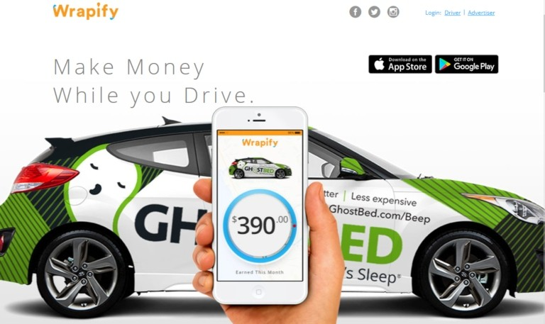 Wrapify - car wrapping to make money