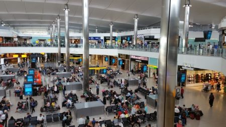 Heathrow airport Retireon baby boomers budget travel
