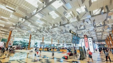 Hints for international airport baby boomers budget travel