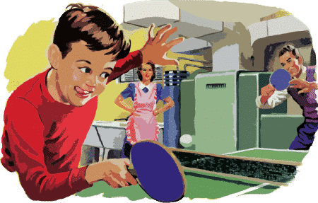 ping pong for children retireon