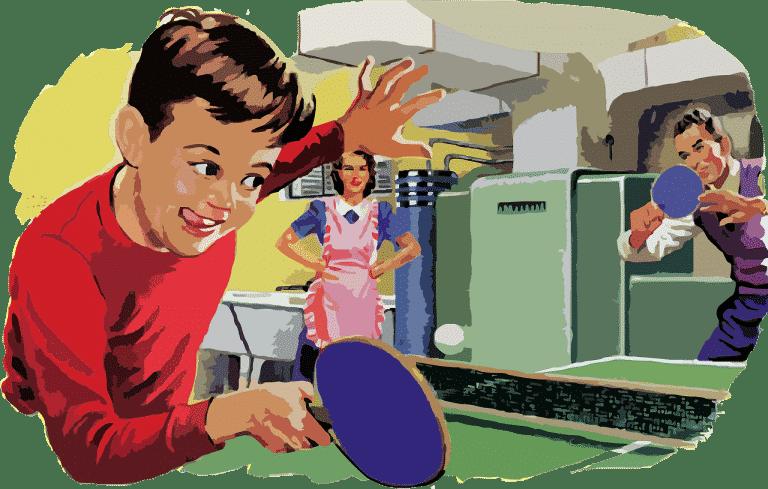ping pong for children retireon