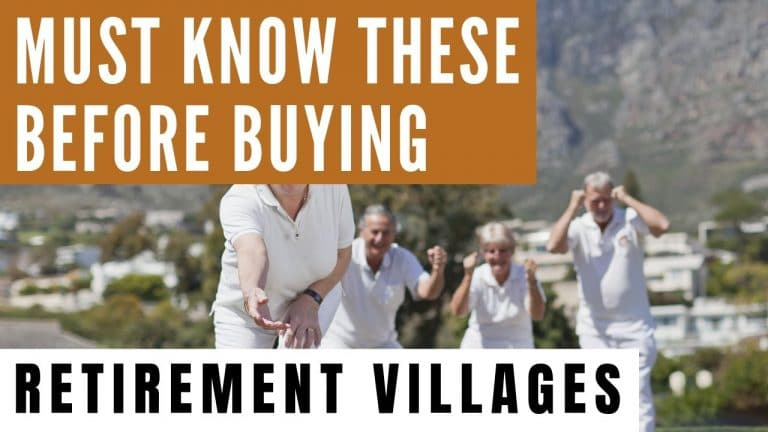 crucial points to consider before buying a retirement village retireon