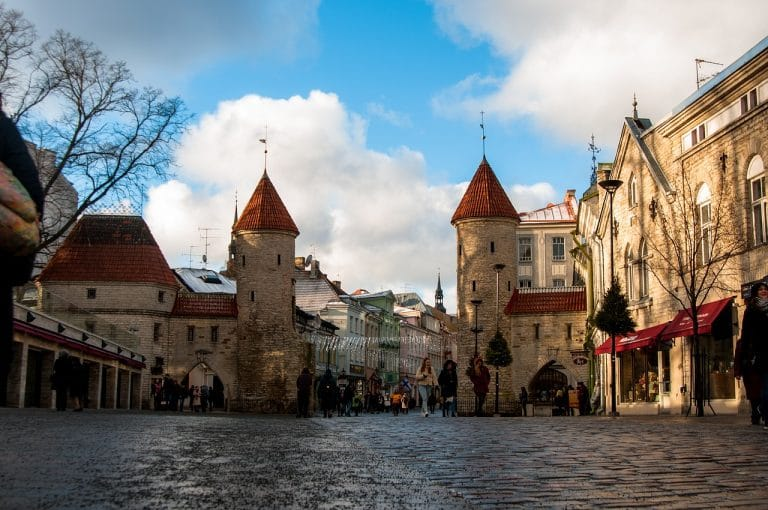 Viru Gate Tallinn Estonia retireon baby boomers budget travel