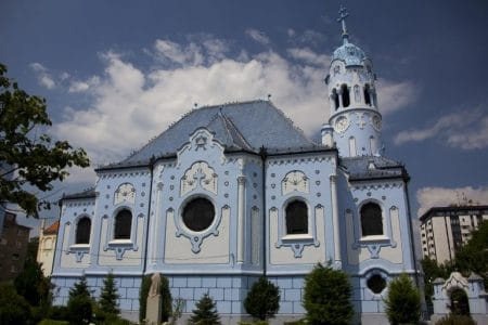 hungary blue church baby boomers budget travel
