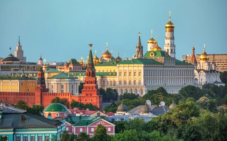 view of the kremlin in moscow russia PNVBB