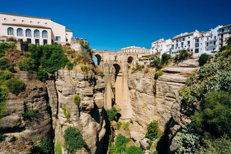 The Puente Nuevo (New Bridge) in Ronda, Spain